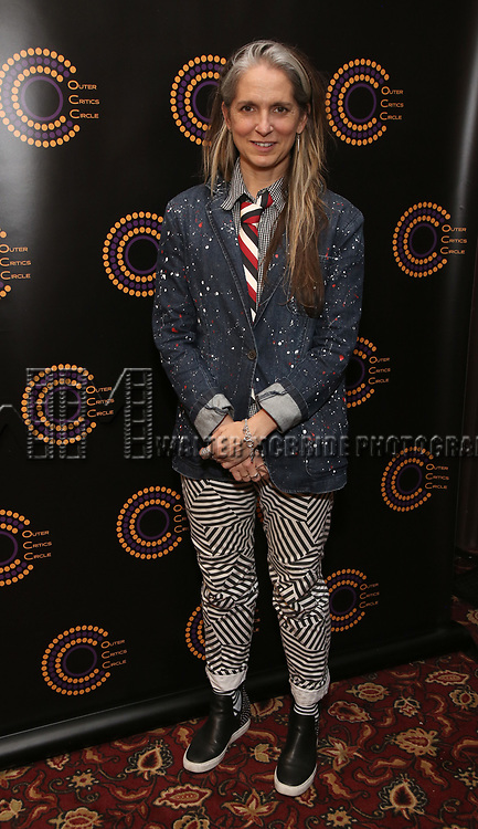 Christine Jones attends the 2018 Outer Critics Circle Theatre Awards at Sardi's on May 24, 2018 in New York City.