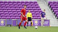 Orlando, Florida - Saturday January 13, 2018: Cory Brown. Match Day 1 of the 2018 adidas MLS Player Combine was held Orlando City Stadium.