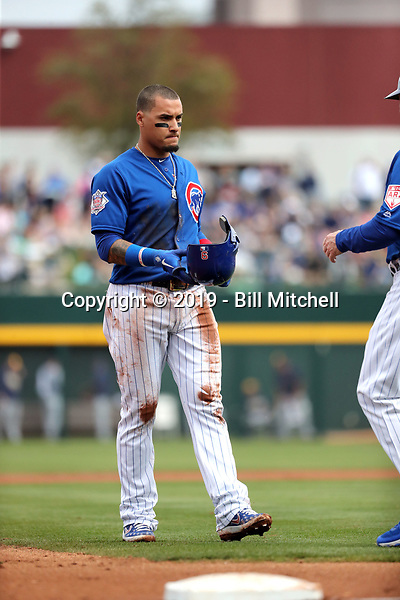 Javy Baez - Chicago Cubs 2019 spring training (Bill Mitchell)