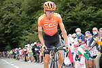 Ilnur Zakarin (RUS) CCC Team climbs Col de Marie Blanque during Stage 9 of Tour de France 2020, running 153km from Pau to Laruns, France. 6th September 2020. <br /> Picture: Colin Flockton   Cyclefile<br /> All photos usage must carry mandatory copyright credit (© Cyclefile   Colin Flockton)