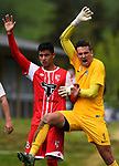 NELSON, NEW ZEALAND - NOVEMBER 10: Handa Premier Football League - Tasman Utd v Waitakere Utd. Sunday 10 November 2019 in Nelson, New Zealand. (Photo by Chris Symes/Shuttersport Limited)