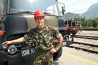 """- """"virtual"""" command posts exercise of ARCC (Allied Rapid Reaction Corps), NATO structure for ready intervention, English Engineer Corps soldier....- esercitazione """"virtuale"""" per posti comando dell'ARCC (Allied Rapid Reaction Corps), struttura di pronto intervento della NATO, geniere inglese"""