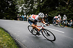 Richie Porte (AUS) Trek-Segafredo descends during Stage 9 of Tour de France 2020, running 153km from Pau to Laruns, France. 6th September 2020. <br /> Picture: ASO/Pauline Ballet   Cyclefile<br /> All photos usage must carry mandatory copyright credit (© Cyclefile   ASO/Pauline Ballet)