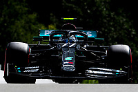 29th August 2020, Spa Francorhamps, Belgium, F1 Grand Prix of Belgium , qualification;   77 Valtteri Bottas FIN, Mercedes-AMG Petronas Formula One Team takes 2nd on the grid