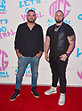 """MIAMI, FL - APRIL 23: Rapper Highlight and Ted Kay (L) attend the official Premiere and debut of Jaquae and Highlight music video release """"Movie"""" at Gallery House Miami on April 23, 2021 in Miami, Florida.  ( Photo by Johnny Louis / jlnphotography.com )"""