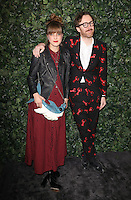 Charlotte and Philip Colbert<br /> at the 2017 Charles Finch & CHANEL Pre-Bafta Party held at Anabels, London.<br /> <br /> <br /> ©Ash Knotek  D3227  11/02/2017