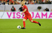 NASHVILLE, TENN - JULY 03: Michael Bradley #4 during a 2019 CONCACAF Gold Cup Semifinal match between the United States and Jamaica at Nissan Stadium on July 03, 2019 in Nashville, Tennessee.