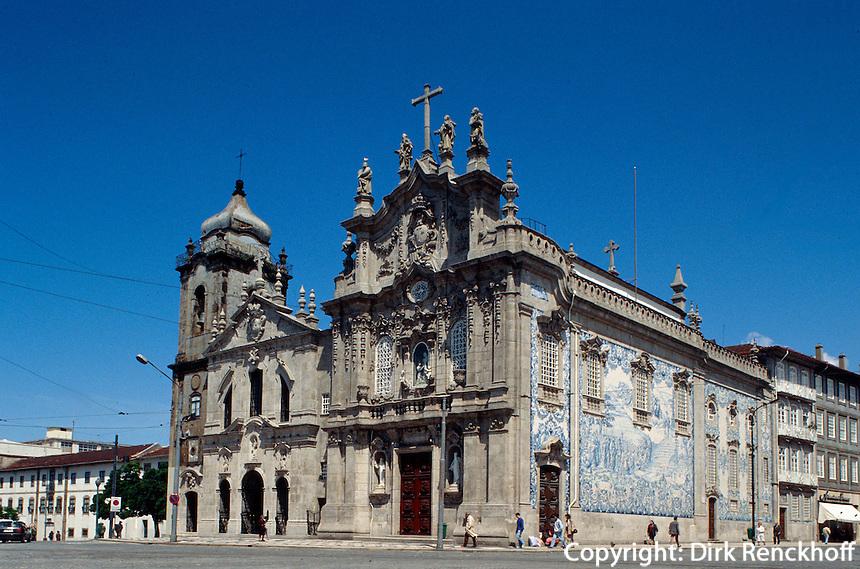 Portugal, Karmeliter- und Carmokirche in Porto