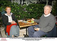 """Jun 22, 2004; PARIS, IDF, FRANCE;CATHERINE ET CLAUDE RICH AVANT PREMIERE DU FILM """"RIEN VOILA L'ORDRE AU CINEMA STUDIO 28<br /> Mandatory Credit: Photo by GAFFIOT / VISUAL Press Agency .<br /> (©) Copyright 2004 by VISUAL Press Agency #"""
