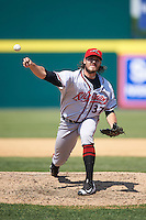 Richmond Flying Squirrels relief pitcher Ray Black (37) delivers a pitch during a game against the Binghamton Mets on June 26, 2016 at NYSEG Stadium in Binghamton, New York.  Binghamton defeated Richmond 7-2.  (Mike Janes/Four Seam Images)