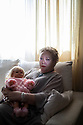 """Spain - Catarroja - Portrait of Práxedes Maxía Piqueras , 56. Práxedes Maxía Piqueras, 56, weeps uncontrollably while caressing the doll she had made for her daughter Jessica. """"I still have a little dress I had sewn for my baby"""", she adds, gulping down some tranquillisers to compose herself. """"To come back from the hospital alone was the toughest thing I had to endure"""". Jessica was born on the 23rd of August 1982 at the Hospital Sanjurjo, in Valencia. She supposedly died ten hours later because of several malformations, and was buried in a municipal common grave.  """"According to the medical reports my daughter was a monster, but when I held her on my lap she was perfectly fine!"""", continues Maxía Piqueras, with a desperate voice. """"She had marvellous blue eyes and hair so blonde as if they had been dyed in saffron"""". In 2013, Maxía Piqueras camped for 68 days in front of Valencia's main square, enchained, in order to press the authorities for the exhumation of her supposed daughter. Her case was dismissed a few weeks later."""