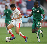 Zied Jaziri of Tunisia. Saudi Arabia and Tunisia played to a 2-2 tie in their FIFA World Cup Group H match at FIFA World Cup Stadium, Munich, Germany, June 14, 2006.