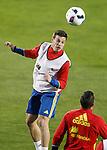 Spain's Cesar Azpilicueta during training session. March 21,2016. (ALTERPHOTOS/Acero)