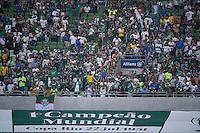 SÃO PAULO,SP, 24.07.2016 - PALMEIRAS-ATLÉTICO-MG - Torcida do Palmeiras durante partida contra o Atlético-MG, jogo válido pela décima sexta rodada do Campeonato Brasileiro 2016, no estádio Allianz Parque em São Paulo, neste domingo, 24. (Foto: Levi Bianco/Brazil Photo Press)