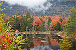 Fall foliage on the Kancamagus Highway in the White Mountain National Forest, NH, USA