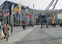 Brussels World's Fair France Pavillion. 1958