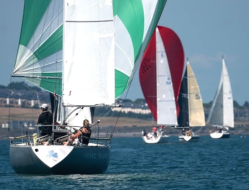 Floating living history – the Ron Holland-designed Shamrock Class Silver Shamrock (Conor Fogerty & Suzanne Ennis) was Half Ton World Champion at Trieste in 1976 under Harold Cudmore's command. Photo: Annraoi Blaney