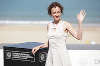 """Actress Kym Vercoe posses in the photocall of the """"For those who can tell no lies"""" film presentation during the 61 San Sebastian Film Festival, in San Sebastian, Spain. September 26, 2013. (ALTERPHOTOS/Victor Blanco) <br /> San Sebastian Film Festival <br /> Foto Insidefoto"""
