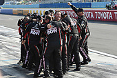 Monster Energy NASCAR Cup Series<br /> I LOVE NEW YORK 355 at The Glen<br /> Watkins Glen International, Watkins Glen, NY USA<br /> Sunday 6 August 2017<br /> The crew of Martin Truex Jr, Furniture Row Racing, Furniture Row/Denver Mattress Toyota Camry, celebrate after winning the I LOVE NEW YORK 355 at The Glen.<br /> World Copyright: John K Harrelson<br /> LAT Images