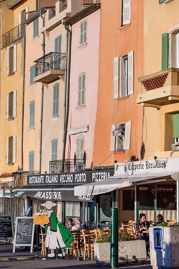 Cafe, Saint Tropez, France