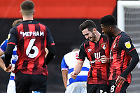 Lewis Cook of AFC Bournemouth celebrates scoring the third goal with Jefferson Lerma of AFC Bournemouth during AFC Bournemouth vs Reading, Sky Bet EFL Championship Football at the Vitality Stadium on 21st November 2020