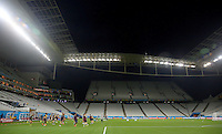 A general view as England train in the Arena Corinthians ahead of their Group D fixture vs Uruguay tomorrow
