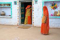 Manvar on the way to Jaisalmer, Rajasthan