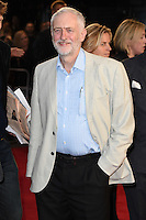 """Jeremy Corbyn<br /> at the London Film Festival 2016 premiere of """"Snowden"""" at the Odeon Leicester Square, London.<br /> <br /> <br /> ©Ash Knotek  D3181  15/10/2016"""