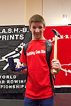 The Crash-B World Indoor Rowing Championships, Adaptive rowers, Matt McLaughlin, Junior Men Legs-Trunk-Arms; Intellectually Disabled, 1st, Medals ceremony, 2012, Boston, Massachusetts, All athletes compete annually on a Concept2 Indoor Rower for time over 1000 meters,