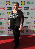 19/05/2015 <br /> Mary arraign langan<br /> during the Irish mirror pride of Ireland awards at the mansion house, Dublin.<br /> Photo: gareth chaney Collins