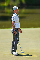 May 2nd 2021; The Woodlands, Texas, USA;  Mike Weir barely misses his birdie putt on 4 during final round  of the 2021 Insperity Invitational at The Woodlands Country Club on May 2, 2021 in The Woodlands, Texas.