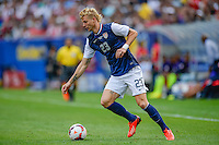 Chicago, IL - Sunday July 28, 2013:   USMNT forward Brek Shea (23) during the CONCACAF Gold Cup Finals soccer match between the USMNT and Panama, at Soldier Field in Chicago, IL.