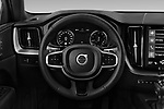 Car pictures of steering wheel view of a 2020 Volvo XC60 Inscription 5 Door SUV Steering Wheel