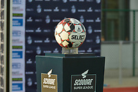 matchball pictured on the Scooore ball holder during a female soccer game between SV Zulte - Waregem and Oud Heverlee Leuven on the sixth matchday of the 2020 - 2021 season of Belgian Scooore Women s SuperLeague , saturday 7 th of November 2020  in Zulte , Belgium . PHOTO SPORTPIX.BE   SPP   DIRK VUYLSTEKE