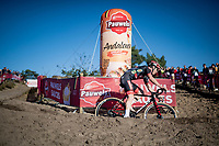 Laurens Sweeck (BEL/Pauwels Sauzen - Bingoal)<br /> <br /> Elite Men's Race<br /> 2021 UCI cyclo-cross World Cup - Zonhoven (BEL)<br /> <br /> ©kramon