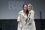 Nur Levi and Silvia Abascal on stage during the performance of the play Ecos on November 14, 2019 in Madrid, Spain.(ALTERPHOTOS/ItahisaHernandez)