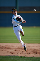 Charlie Yanoshik (10) of La Salle College High School in Lafayette Hill, Pennsylvania during the Baseball Factory All-America Pre-Season Tournament, powered by Under Armour, on January 13, 2018 at Sloan Park Complex in Mesa, Arizona.  (Mike Janes/Four Seam Images)