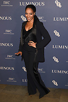 Naomie Ackie<br /> arriving for the LUMINOUS Gala 2019 at the Roundhouse Camden, London<br /> <br /> ©Ash Knotek  D3522 01/10/2019