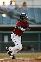 May 31 2009: Chris Jackson of the Lancaster JetHawks during game against the Modesto Nuts at Clear Channel Stadium in Lancaster,CA.  Photo by Larry Goren/Four Seam Images