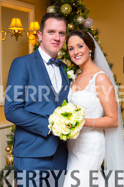 Shauna Breen, Killorglin, daughter of Brendan and Carmel Breen, and Clinton Griffin, Killorglin, son of Denis and Patricia Griffin, were married at St. James church Killorglin by Fr. Richard O'Halloran on Friday 5th December 2014 with a reception at Ballygarry House Hotel