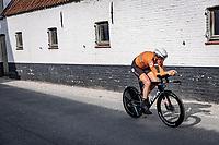 Ellen Van Dijk (NED/Trek Segafredo)<br /> <br /> 88th UCI Road World Championships 2021 – ITT (WC)<br /> Women Elite Time trial from Knokke-Heist to Brugge (30.3km)<br /> <br /> ©Kramon