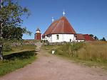 Church on the Island of Kökar, Åland, Finland