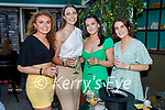 Jennifer Hanafin from Tralee celebrating her 21st birthday in Benners on Saturday. L to r: Therese Keane, Jennifer Hanafin, Aine Rice and Lucy Murphy.