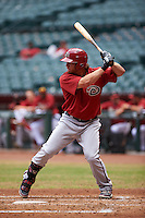 Arizona Diamondbacks Stryker Trahan (36) during an instructional league game against the San Francisco Giants on October 16, 2015 at the Chase Field in Phoenix, Arizona.  (Mike Janes/Four Seam Images)