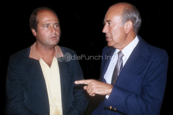 Rob Reiner and Carl Reiner 1978<br /> Photo By Adam Scull/PHOTOlink.net /MediaPunch