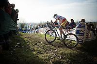 British Champion Ian Field (GBR/Hargroves Cycles)<br /> <br /> Koppenbergcross 2014
