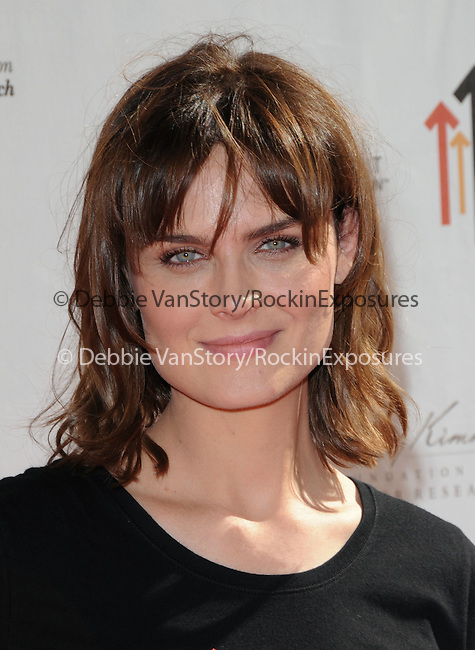 Emily Deschanel at Stand Up to Cancer held at Sony Picture Studios in Culver City, California on September 10,2010                                                                               © 2010 Hollywood Press Agency
