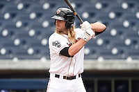 ***Temporary Unedited Reference File***Nashville Sounds designated hitter Bryan Anderson (30) during a game against the Iowa Cubs on May 4, 2016 at First Tennessee Park in Nashville, Tennessee.  Iowa defeated Nashville 8-4.  (Mike Janes/Four Seam Images)