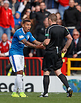 James Tavernier astonished to be booked for his tackle on Johnny Hayes