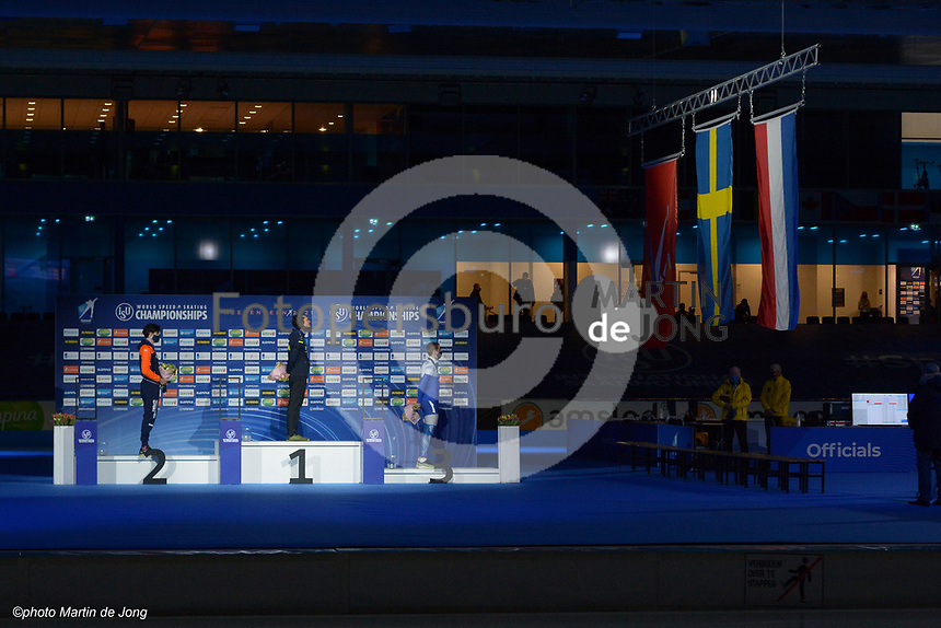 SPEEDSKATING: HEERENVEEN: 11-02-2021, IJsstadion Thialf, ISU World Speed Skating Championships 2021,  5k, ©photo Martin de Jong